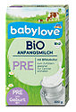 babylove Bio Anfangsmilch Pre