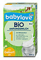 babylove Bio Anfangsmilch 1