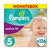 Pampers active fit Windeln Gr. 5 (11-25 kg) Monatsbox