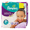 Pampers active fit Windeln Gr. 5+ (12-17 kg) Monatsbox