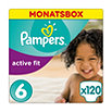 Pampers active fit Windeln Gr. 6 (15+ kg) Monatsbox