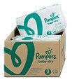 Pampers baby-dry Windeln Gr. 3 (4-9 kg) Monatsbox