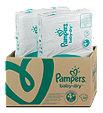 Pampers baby-dry Windeln Gr. 4+ (9-20 kg) Monatsbox