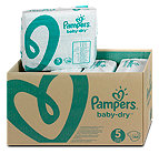 Pampers baby-dry Windeln Gr. 5 (11-25 kg) Monatsbox