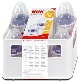 Nuk First Choice+ Starter Set Girl Babyflaschen