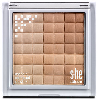 s.he stylezone mosaic compact Puder