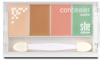 s.he stylezone Concealer Palette