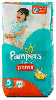 Pampers baby-dry Pants Gr. 5 (12-18 kg)