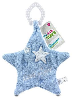 fashy Schnuffeltuch Sterne blau