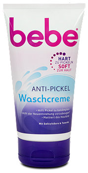 bebe Young Care 3in1 Anti-Pickel Waschcreme