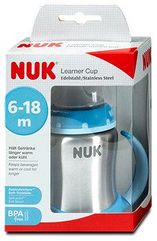 Nuk Learner Cup Trinklernflasche Edelstahl