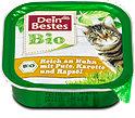 Dein Bestes Bio Katzenfutter mit Huhn, Pute & Karotte