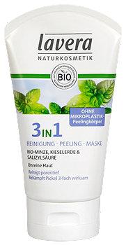 lavera 3in1 Reinigung-Peeling-Maske