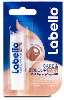 Labello 2in1 Lippenpflegestift Care&Colour Nude
