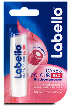 Labello 2in1 Lippenpflegestift Care&Colour Red