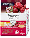 lavera Regenerierende Nachtpflege Bio-Cranberry&Bio-Arganöl