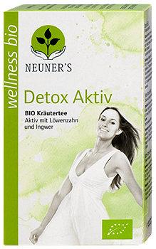 Neuner's Bio Kräutertee Detox Aktiv