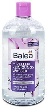 Balea Mizellen Reinigungswasser trockene und sensible Haut