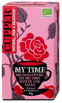 Cupper My Time Chai-Gewürz-Tee