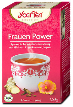 Yogi Tea Frauen Power Tee