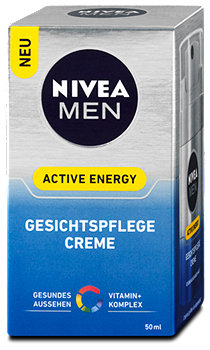 Nivea Men Gesichtspflege Creme Active Energy