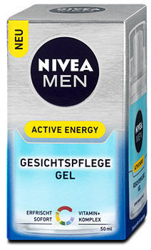 Nivea Men Gesichtspflege Gel Active Energy