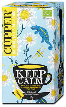 Cupper Keep Calm Tee