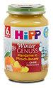 Hipp Fruchtbrei Winter Genuss Mandarine in Pfirsich-Banane