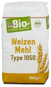 dmBio Weizen Mehl Type 1050