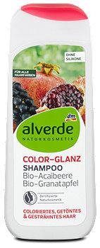 alverde Color-Glanz-Shampoo Acaibeere Granatapfel