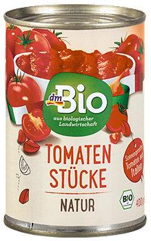 dmBio Tomaten Stücke Natur
