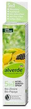 alverde 5in1 Hitzeschutzspray Bio-Zitrone Bio-Papaya