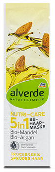 alverde Nutri-Care-5in1 BB-Haar-Maske