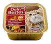 Dein Bestes BBQ Katzenfutter Rind & Grillgemüse Schälchen