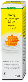 Bergland Honig Reinigungsmilch