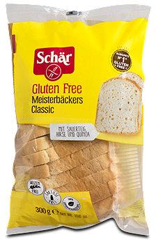 Schär Meisterbäckers Classic glutenfreies weißes Schnittbrot