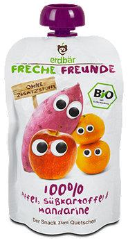 Freche Freunde Fruchtbrei Apfel, Süßkartoffel & Mandarine