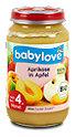 babylove Fruchtbrei Aprikose in Apfel