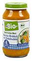 dmBio Vegetarisches Menü Karotte-Brokkoli mit Dinkelnudeln