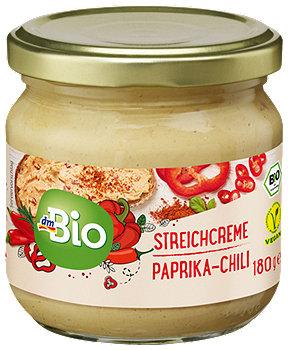 dmBio Streichcreme Paprika-Chili