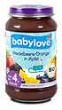 babylove Fruchtbrei Heidelbeere-Orange in Apfel