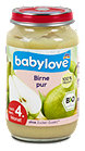 babylove Fruchtbrei Birne pur