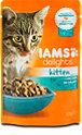 Iams delights Katzenfutter Kitten mit Huhn in Sauce