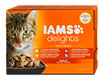 Iams delights Katzenfutter Land Collection in Gelee