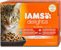 Iams delights Katzenfutter Sea Collection in Sauce
