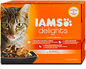 Iams delights Katzenfutter Land Collection in Sauce