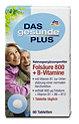 DAS gesunde PLUS Folsäure 800 + B-Vitamine Tabletten