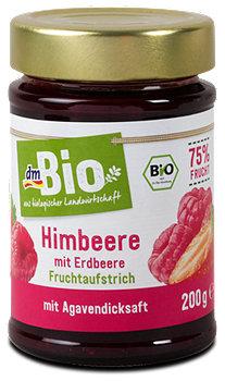 dmBio Fruchtaufstrich Himbeere mit Erdbeere