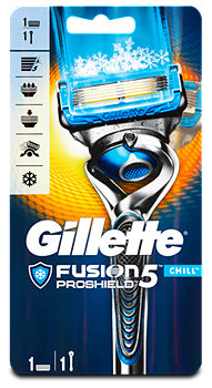 Gillette Fusion5 Proshield Chill Flexball Rasierer