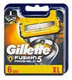 Gillette Fusion Proshield Rasierklingen Vorteilspack